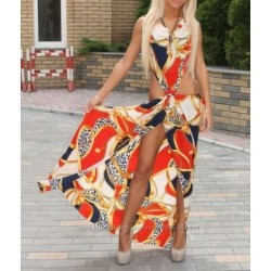 Сексуальное платье-сарафан