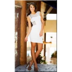 Платье Крест белое