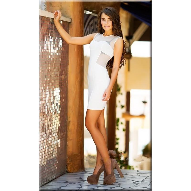Платье белое доставка