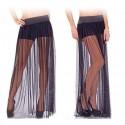Соблазнительная прозрачная юбка с шортами