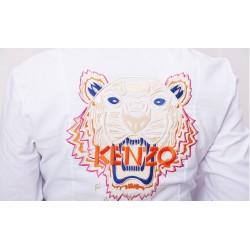 Рубашка - боди вышивка KENZO белая