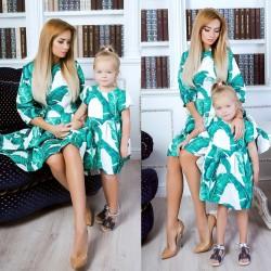 Платье детское familylook 10714