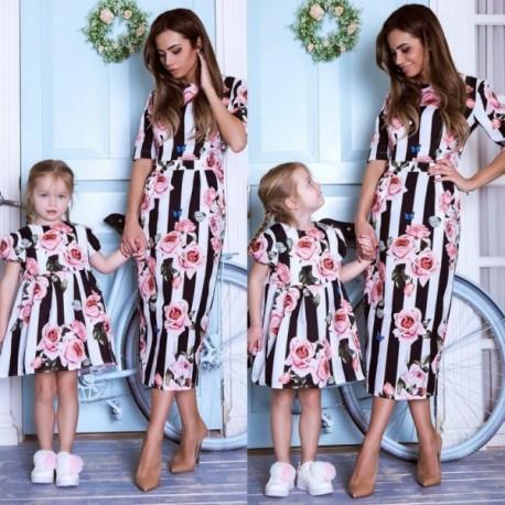 Платье взрослое familylook 11003