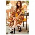 Платье детское лимончик 11068