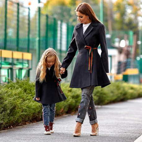 Пальто детское familylook 11138