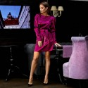 Аласное платье мини 11153