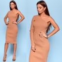 Стильное вязанное платье 90522