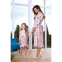 Платье взрослое familylook 11057