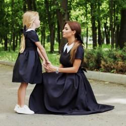 Стильное детское платье Family look 11299