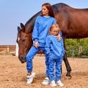 Утепленный спортивный костюм Family Look 11365