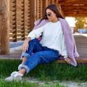 Теплый свитер 7315