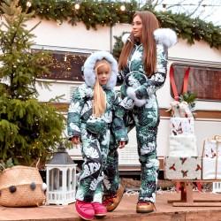 Детский зимний комбинезон Family Look 11444