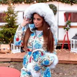 Зимний комбинезон взрослый Family Look 11440