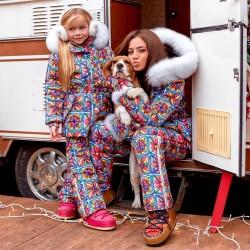 Зимний костюм взрослый Family Look 11442