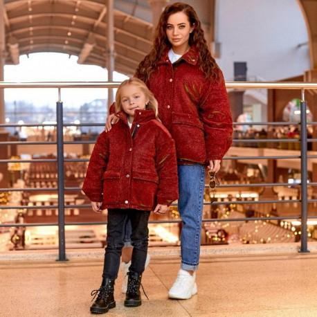 Куртка женская из люрекса Family Look 11481