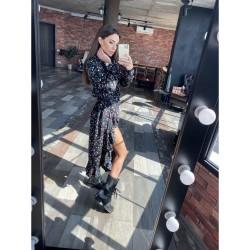 Летнее платье асимметричного кроя 11513