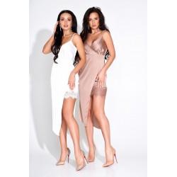Платье в бельевом стиле с кружевом 3789