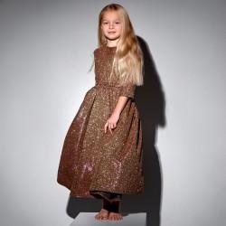 Мерцающее пышное детское платье 11710 Family Look