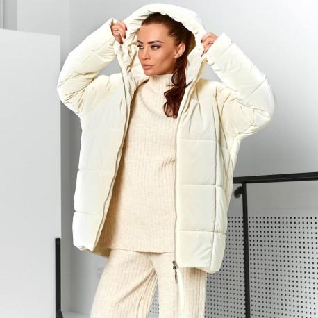 Тёплая oversize курточка 11716