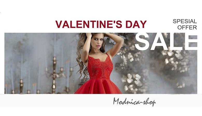Valentine's fashion sale